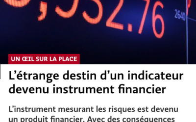 L'étrange destin d'un indicateur devenu instrument financier