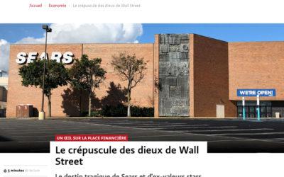 Le crépuscule des dieux de Wall Street