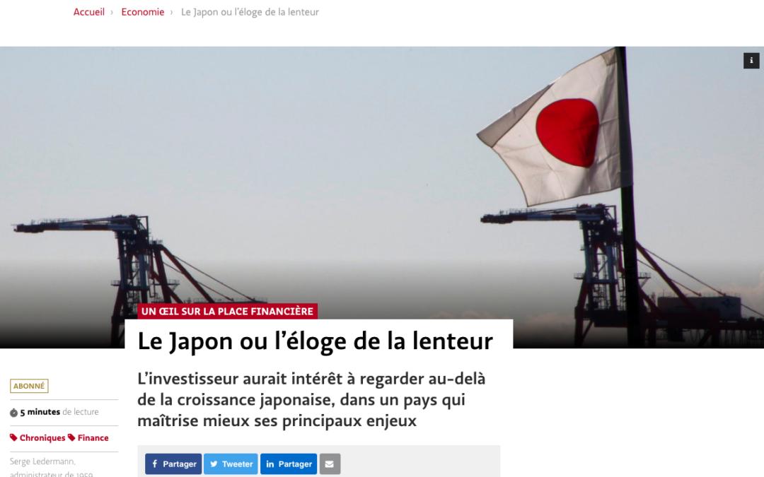 Le Japon ou l'éloge de la lenteur