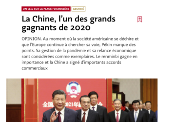 La Chine, l'un des grands gagnants de 2020